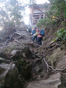 三徳山 参拝登山