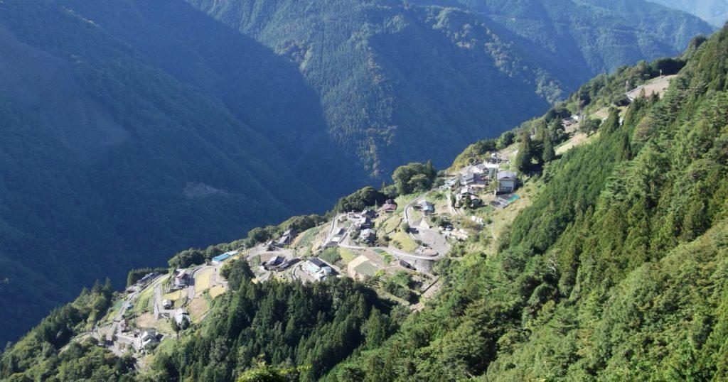 下栗の里 日本のチロル 紅葉 ツーリング