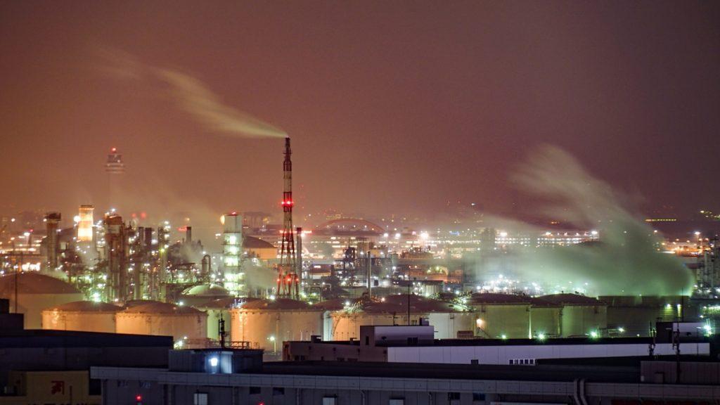 工場 夜景 ツーリング