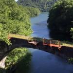旧国鉄士幌線の橋梁鉄道橋