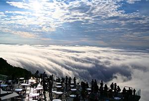 夏の絶景 1位 星野リゾート トマム 雲海テラス