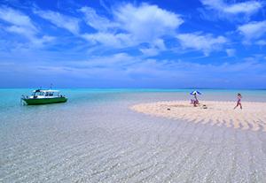 夏の絶景 2位 与論島 百合ヶ浜