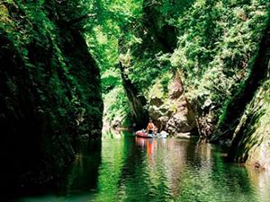 夏の絶景 6位 三淵渓谷