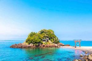 夏の絶景 9位 荒平天神 鹿児島