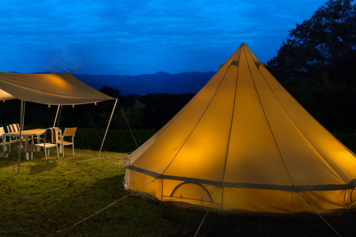 ラフォーレリゾート修善寺 グランピング体験( キャンプ ツーリング )