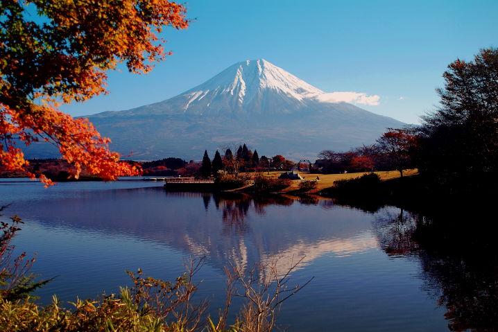 富士山 紅葉 ツーリング
