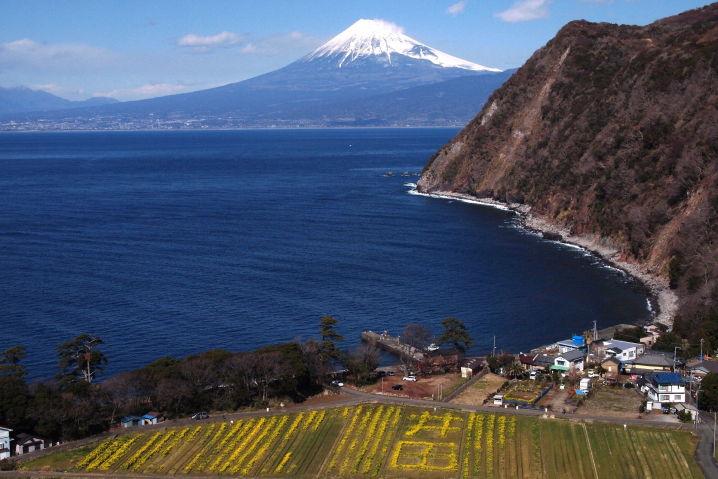 西伊豆 井田 ツーリング 富士山