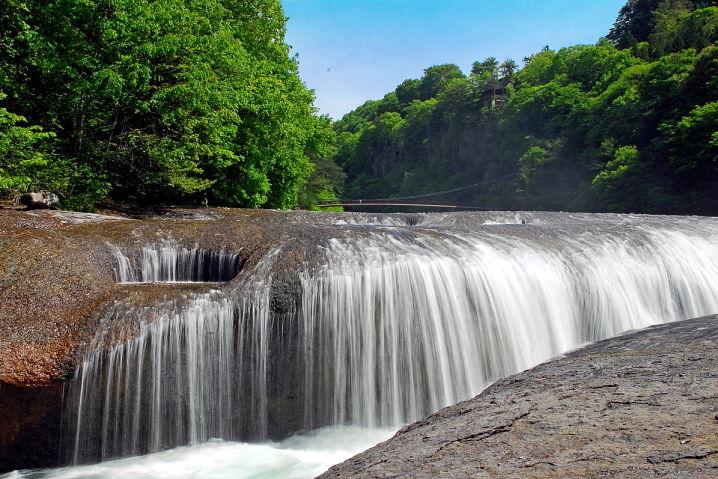 吹割の滝 東洋のナイアガラ