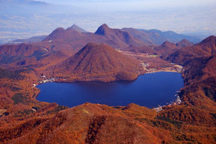 榛名湖 紅葉
