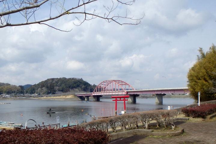 房総 ダム湖