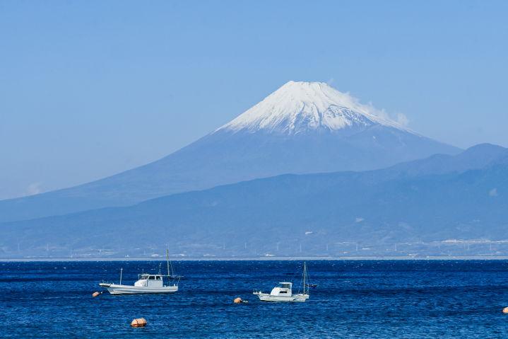 西伊豆 富士山