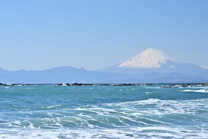 三浦半島 富士山