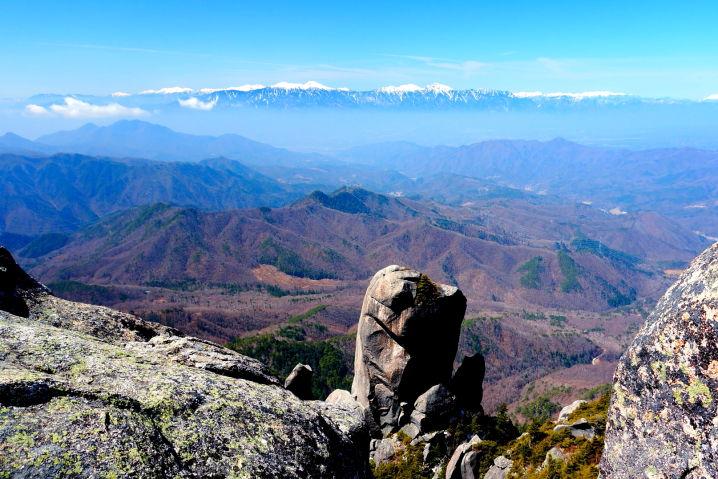 瑞牆山(みずがきやま)からの絶景