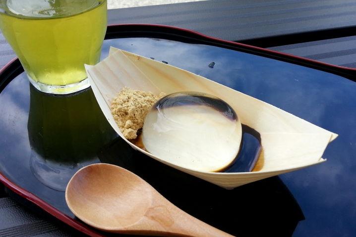 金精軒(きんせいけん) 水信玄餅 ツーリング