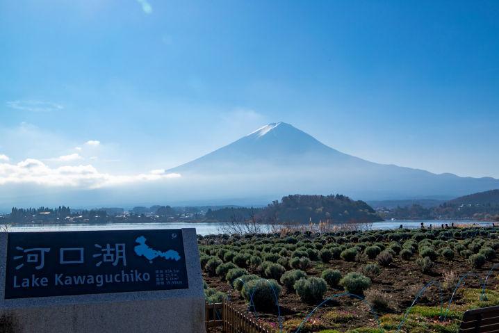 河口湖 富士五湖
