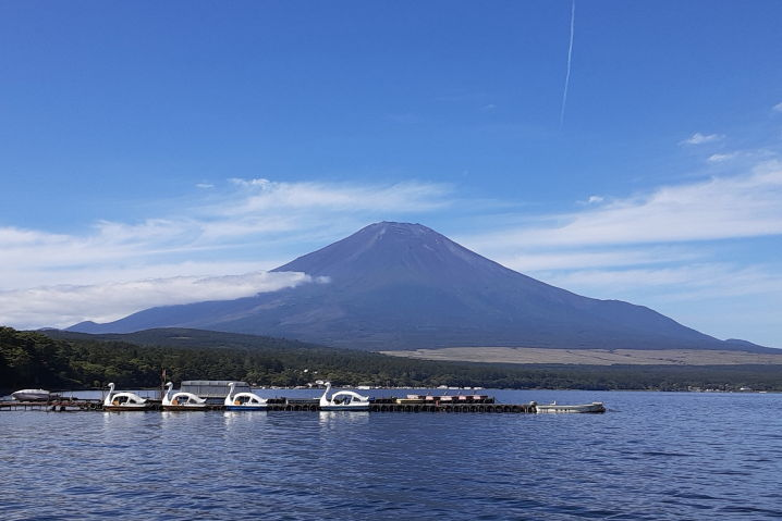 山中湖 ツーリング