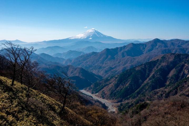 丹沢 富士山